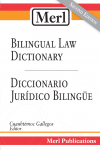 Merl Biligual Law Dictionary Second Edition Cover